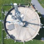 antenne télécom sur chateau d'eau